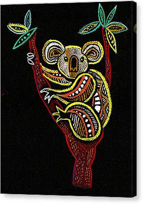 Koala Canvas Print by Leon Zernitsky