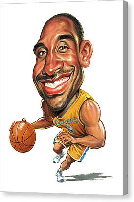 Kobe Bryant Canvas Print by Art