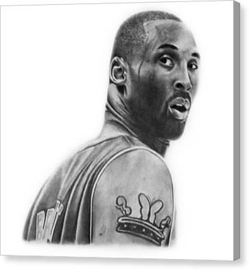 Kobe Bryant Canvas Print by Don Medina