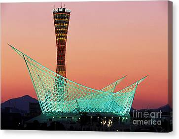 Kobe Port Tower Japan Canvas Print by Kevin Miller