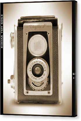 Kodak Duaflex Iv Camera Canvas Print by Mike McGlothlen