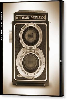 Kodak Reflex Camera Canvas Print by Mike McGlothlen