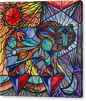 Kodiak Bear Canvas Print by Teal Eye  Print Store