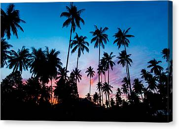Koh Samui Sunrise Canvas Print by Mike Lee