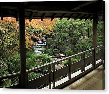 Kokoen Garden - Himeji City Japan Canvas Print by Daniel Hagerman