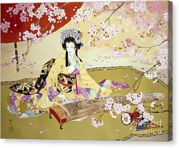 Kotono Canvas Print by Haruyo Morita