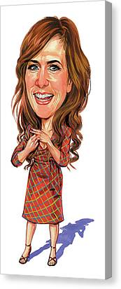 Kristen Wiig Canvas Print by Art