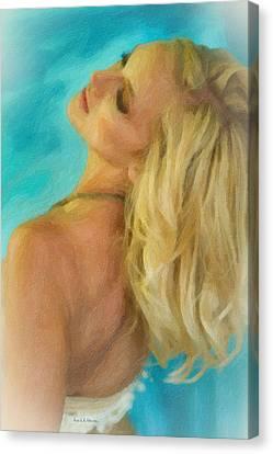 Kristin Canvas Print by Angela A Stanton