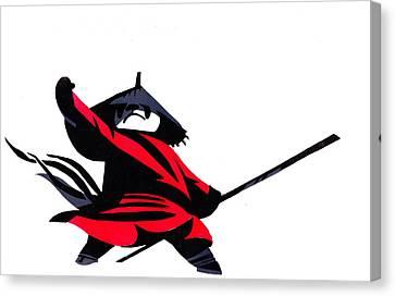 Kung Fu Panda Canvas Print by Max Good