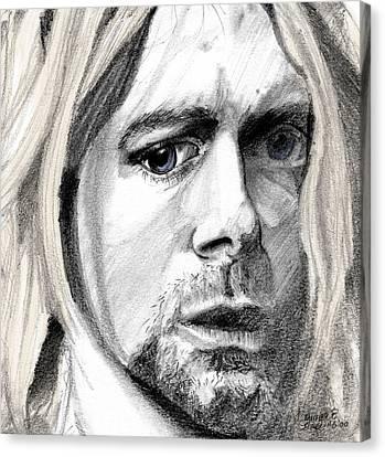 Kurt Canvas Print by Michele Engling