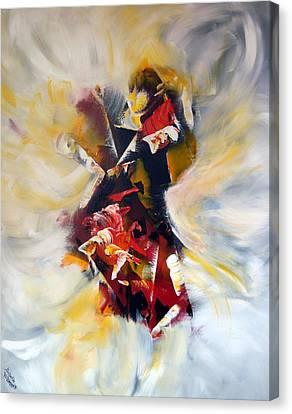 La Cle Des Songes Canvas Print by Isabelle Vobmann