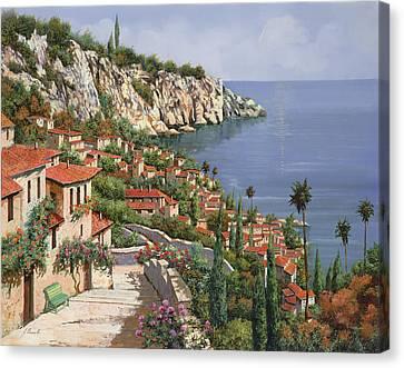 La Costa Canvas Print by Guido Borelli