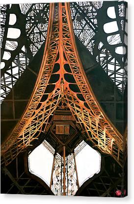 La Dame De Fer Canvas Print by Tom Roderick