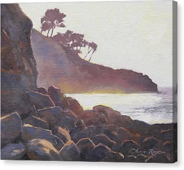 La Jolla Light Canvas Print by Anna Rose Bain
