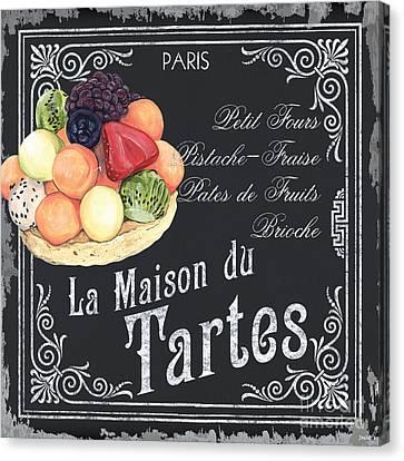 La Maison Du Tartes Canvas Print by Debbie DeWitt