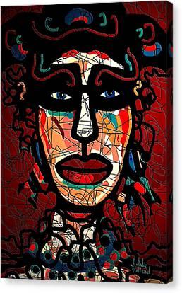 La Matadora Canvas Print by Natalie Holland
