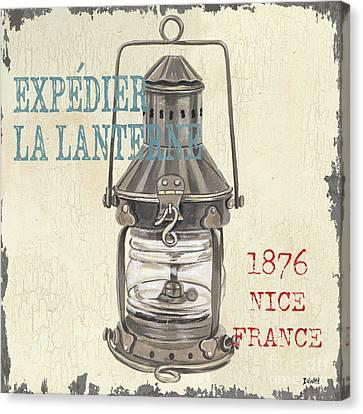 La Mer Lanterne Canvas Print by Debbie DeWitt
