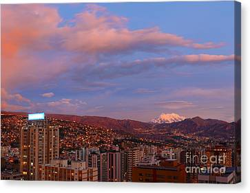 La Paz Twilight Canvas Print by James Brunker