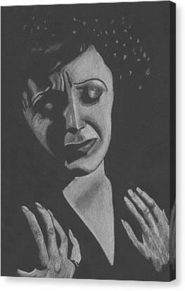 La Piaf Canvas Print by Inga Klein