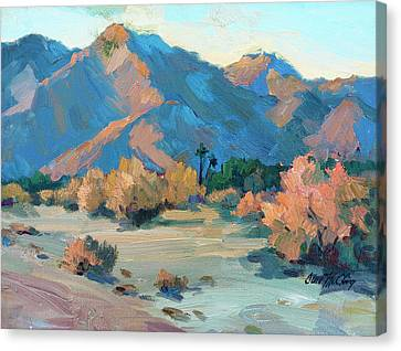 La Quinta Cove - Highway 52 Canvas Print by Diane McClary