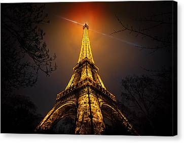 La Tour Eiffel Canvas Print by Clemens Geiger