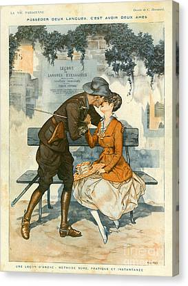 La Vie Parisienne 1916 1910s France Canvas Print by The Advertising Archives
