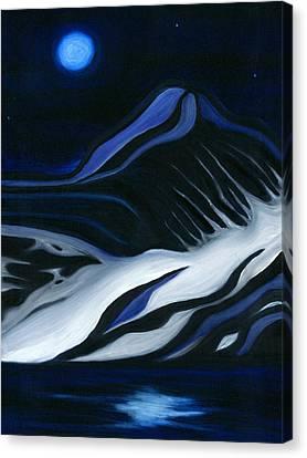 Labrador Blue Mountain Canvas Print by Ran Andrews