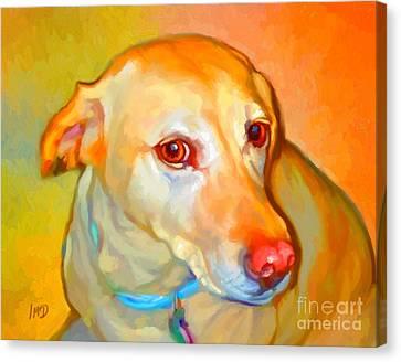Labrador Painting Canvas Print by Iain McDonald