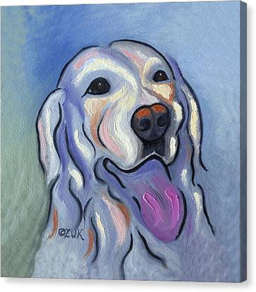 Labrador Retriever Canvas Print by Karen Zuk Rosenblatt