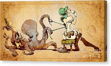 Lacing Up Canvas Print by Brian Kesinger