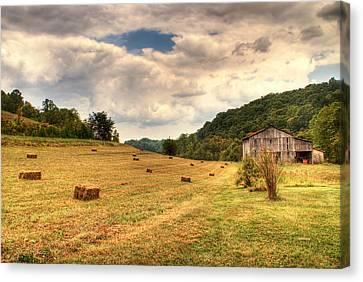 Lacy Farm Morgan County Kentucky Canvas Print by Douglas Barnett