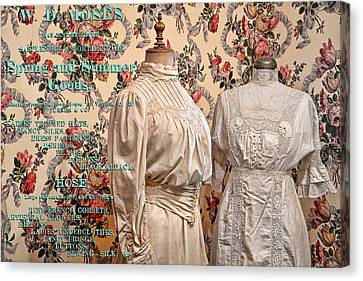 Ladies' Wear Canvas Print by Ed Hall