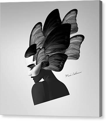 Lady D  Canvas Print by Mark Ashkenazi