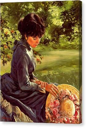 Lady Katherine Canvas Print by Michael Swanson