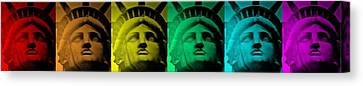 Lady Liberty For All Canvas Print by Rob Hans