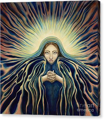 Lady Of Light Canvas Print by Lyn Pacificar