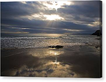 Ladys Cove, The Copper Coast, County Canvas Print by Panoramic Images