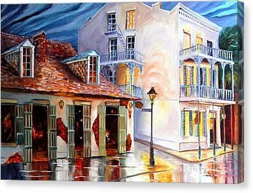 Lafitte's Guest House On Bourbon Canvas Print by Diane Millsap