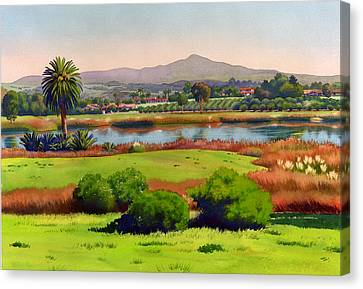Lago Lindo Rancho Santa Fe Canvas Print by Mary Helmreich