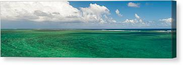 Lagoon, Chamarel, Mauritius Island Canvas Print by Panoramic Images