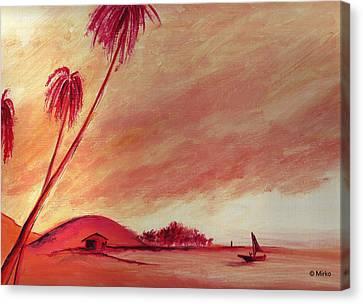 Lagoon Canvas Print by Mirko Gallery