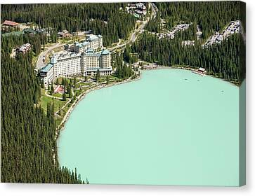 Lake Louise Canvas Print by Ashley Cooper