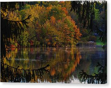 Lake Lucerne Ohio Canvas Print by Torrey McNeal