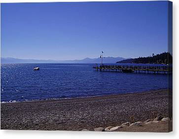 Lake Tahoe #7 Canvas Print by J D Owen