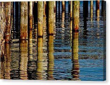 Lake Tahoe Reflection Canvas Print by Bill Gallagher