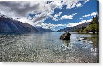 Lake Wakatipu Canvas Print by Shari Mattox