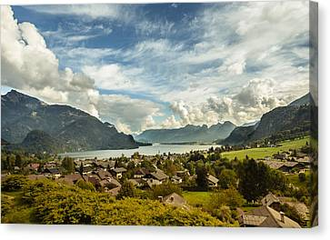 Lake Wolfgang Canvas Print by Chris Fletcher
