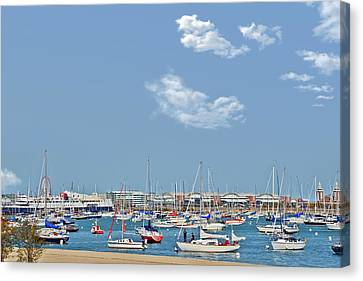 Lakefront Chicago Canvas Print by Christine Till