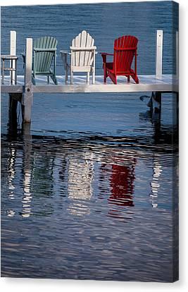 Lakeside Living Number 2 Canvas Print by Steve Gadomski