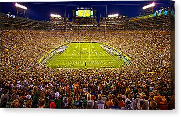 Lambeau Field Canvas Print by Phil Koch